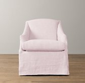 Demi Sloped Arm Swivel Glider with Slipcover