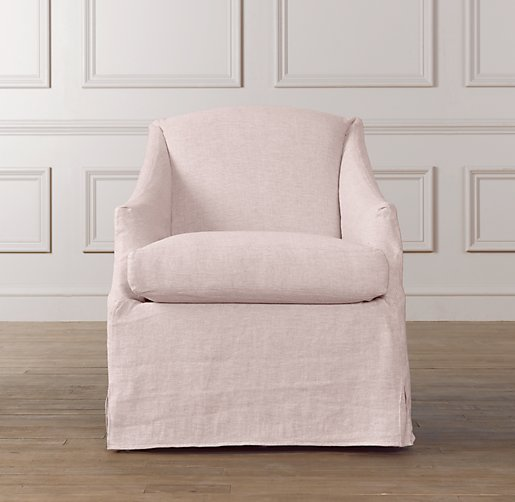 Demi Sloped Arm Swivel Glider Slipcover Only