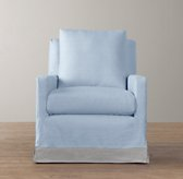 Tailored Track Arm Swivel Glider Slipcover Only