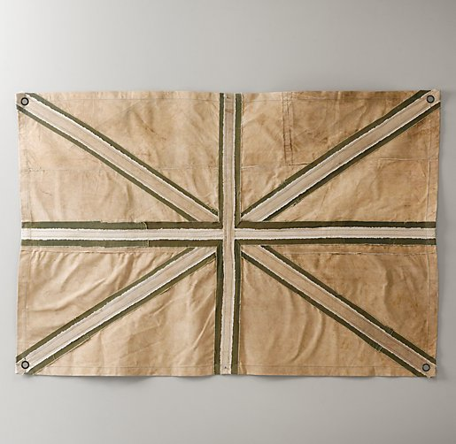 Union Jack Recycled Canvas Tarp