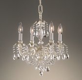 Brocade 4-Arm Chandelier
