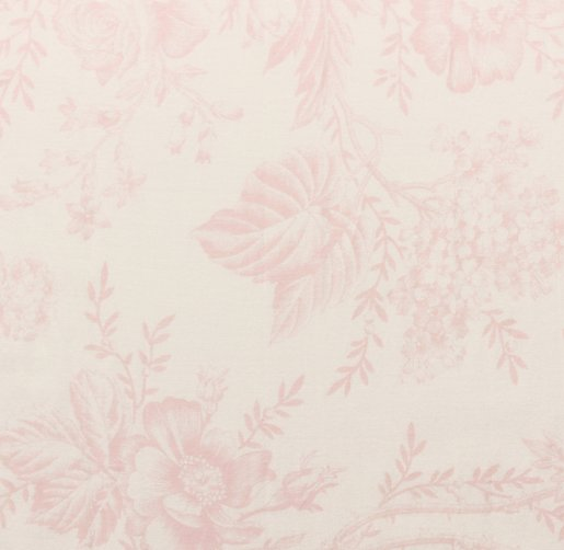Antique Floral Drapery Swatch