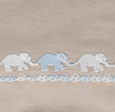 Embroidered Elephant Bedding Swatch
