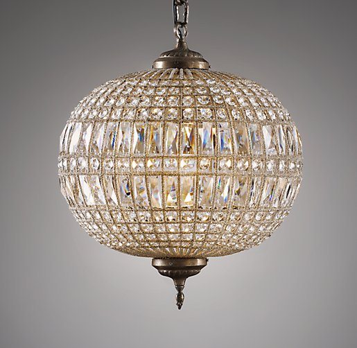 Casablanca Large Crystal Pendant