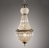 French Regency Large Crystal Pendant