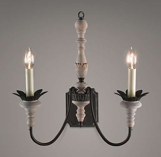 Parisian Double Sconce