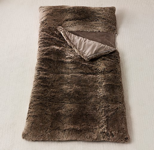 Luxe Faux Fur Sleeping Bag