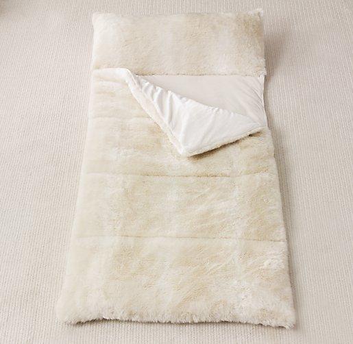 Luxe Faux Fur Sleeping Bag