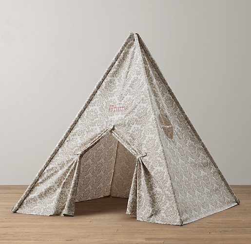 Restoration Hardware Baby & Child - Printed Canvas Play Tent