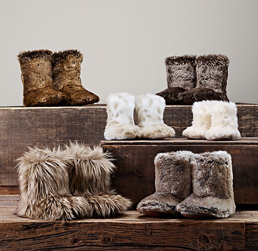 Luxe Faux Fur Booties