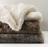 Luxe Faux Fur Bed Throw