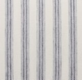 Linen Stripe Tie Top Drapery Swatch