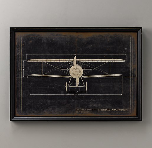 Model G Airplane Blueprint