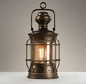 Vintage Lantern Antique Bronze
