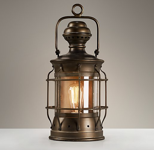 Vintage Lantern - Antique Bronze