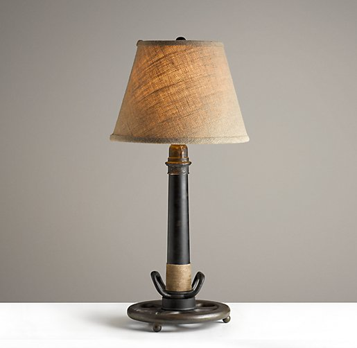 Fire Hose Table Lamp