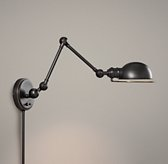 Academy Task Swing-Arm Sconce Oil Rubbed Bronze