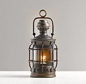 Mini Vintage Lantern Antique Bronze