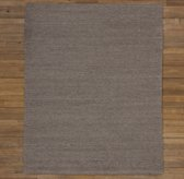 Textured Braided Wool Rug