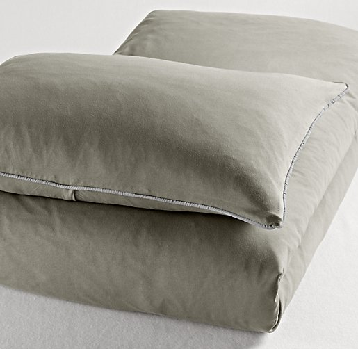 European Heathered Jersey Duvet Cover
