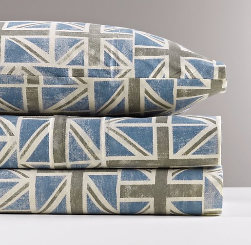 European Union Jack Jersey Sheet Set