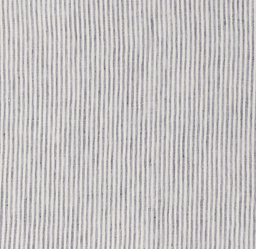Washed Linen Pinstripe Bedding Swatch