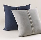 Stonewashed Cotton Knit Pillow Cover