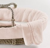 Washed Organic Linen Moses Basket Bedding