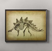 Dinosaur Skeleton Art