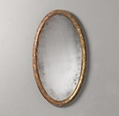 Vine Carved Oval Mirror