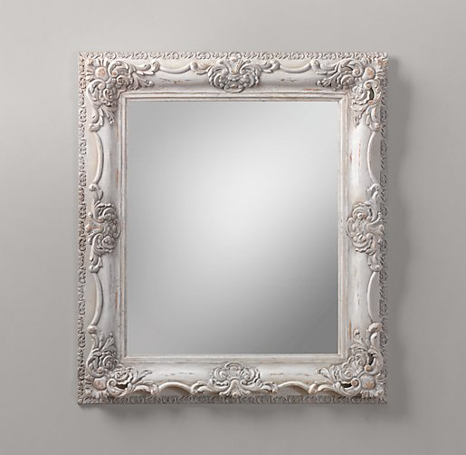 Ornate Carved Wood Mirror