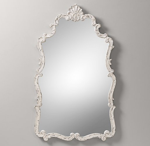 Jardin Scroll Mirror