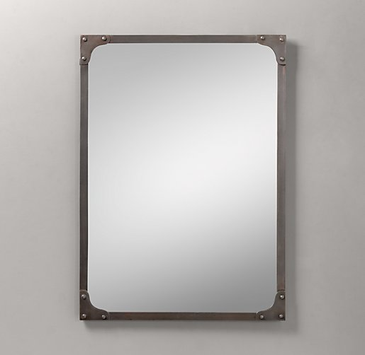 Industrial Rivet Dresser Mirror