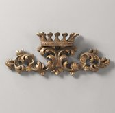 Small Gilt Wall Crown