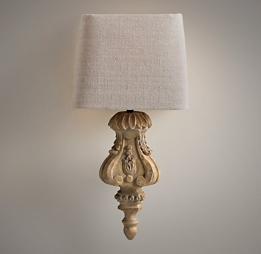 Architectural Finial Sconce