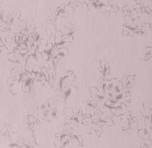 Washed Linen-Cotton Floral Bedding Swatch