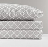 European Trellis Percale Sheet Set