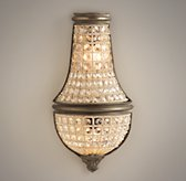 French Regency Small Crystal Sconce