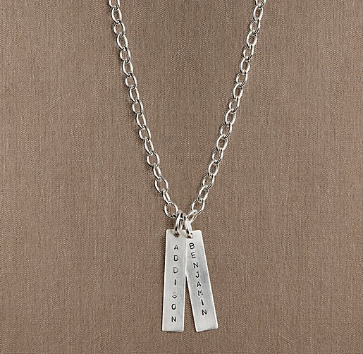 Sterling Silver Personalized Tag