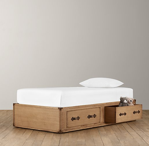 Wilkes Trunk Bed - 2 Drawer