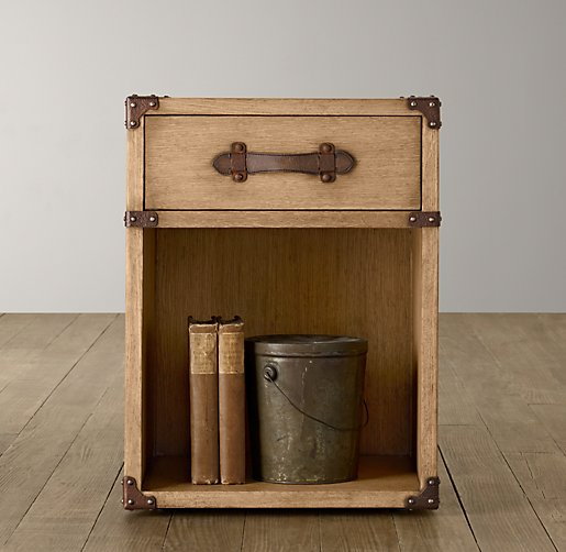 Wilkes Trunk Nightstand