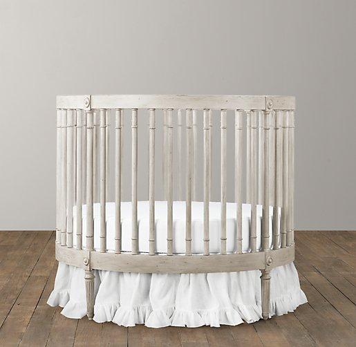 Ellery Round Crib Amp Mattress