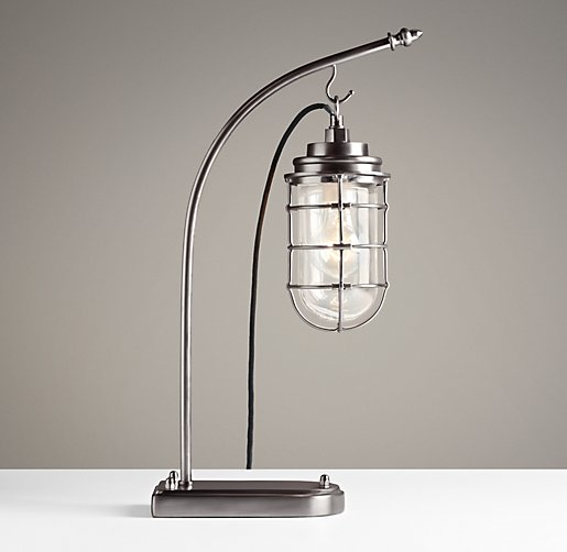 Mariner's Table Lamp Antique Brushed Nickel