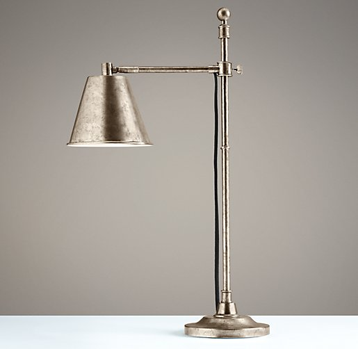 Sumner Table Lamp Pewter
