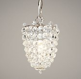 Chantilly Crystal Pendant Pewter