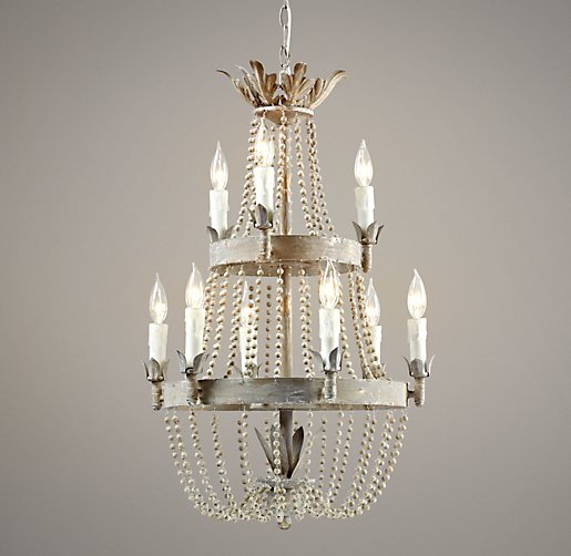 Dauphine Wood Chandelier