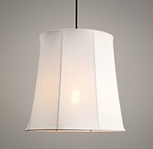 Fulton Cotton-Linen Pendant Warm White