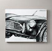 Vintage Roadster Sketch Art