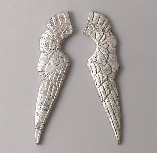 Pewter Angel Wings
