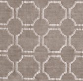 Maxime Embroidered Chenille Rug Swatch